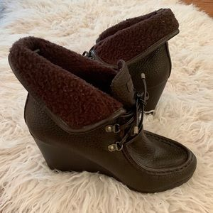 Tommy Hilfiger Zappa Wedge Booties